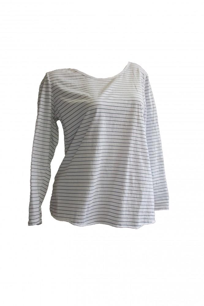 1f6b4640fd Pamut csíkos póló (#4) - Olivashop ruha webáruház, Női ruha webshop ...