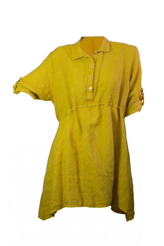 5777c6886f Hátul megkötős, elől húzott tunika (#8) - Olivashop ruha webáruház ...