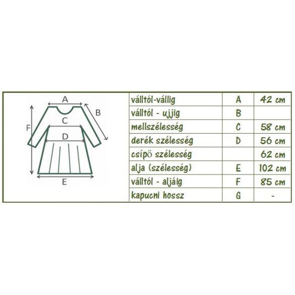 Fodros mini ruha (#17)