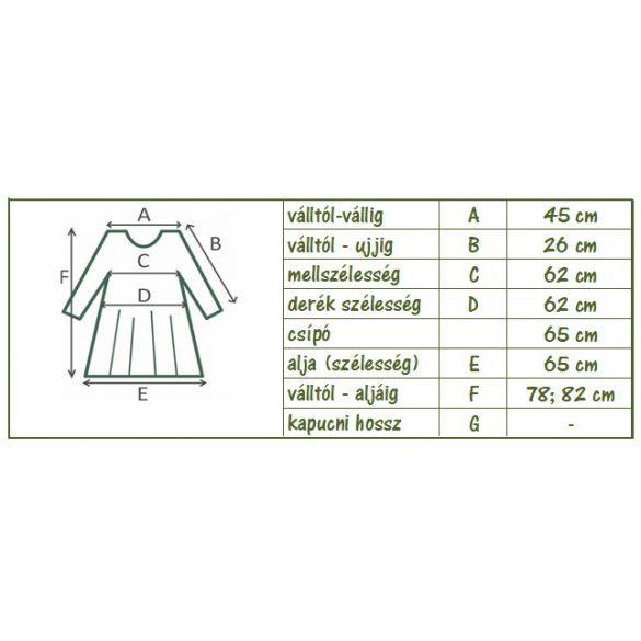 Egyenes vonalú csipkés tunika (#15)