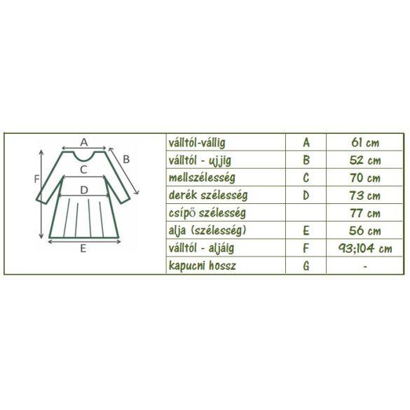 Zsebes pamut tunika (drapp) (#4)