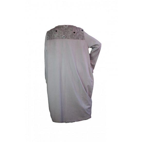 Pamut ruha,hímzett tüll betéttel (#6)