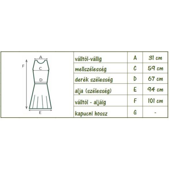 Apró virágmintás spagettipántos nyári ruha (#21)