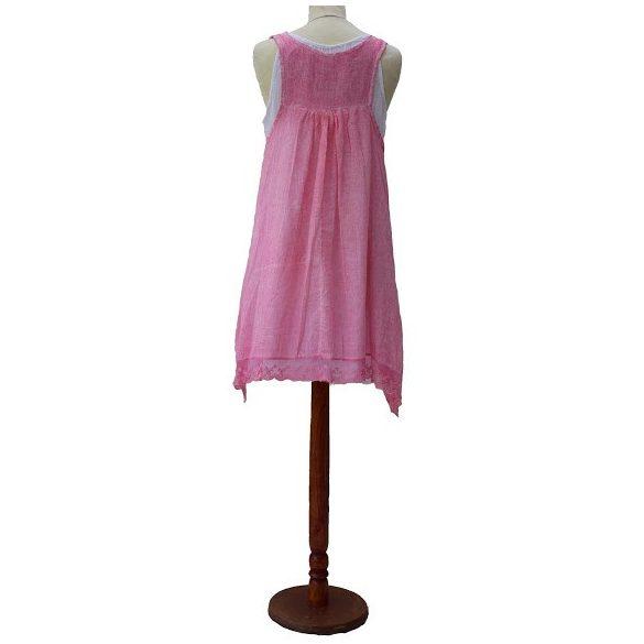 Szellős nyári ruha (fehér alsó ruhával) (#19)