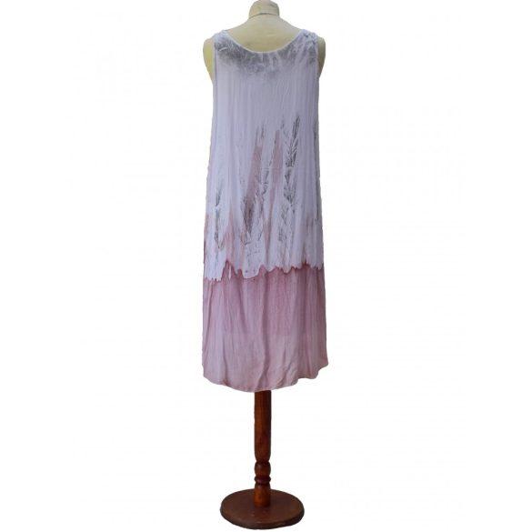 Szellős kánikula ruha flitteres díszítéssel (#20)