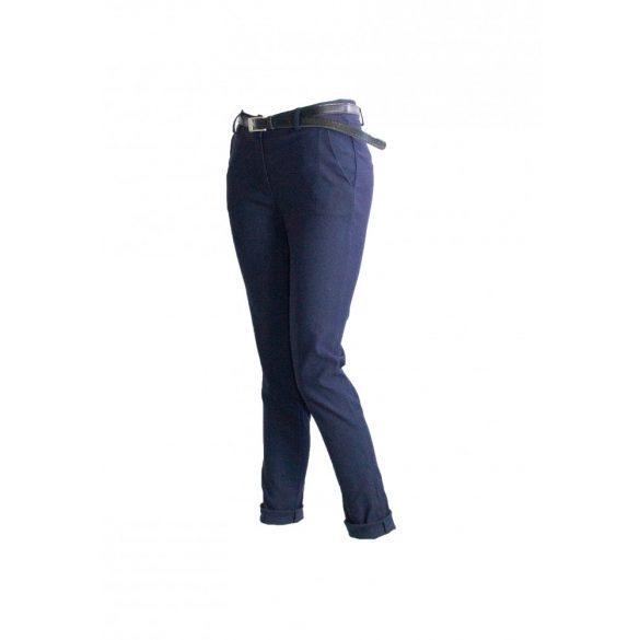 Divatos nadrág övvel (sötét kék) (#5)