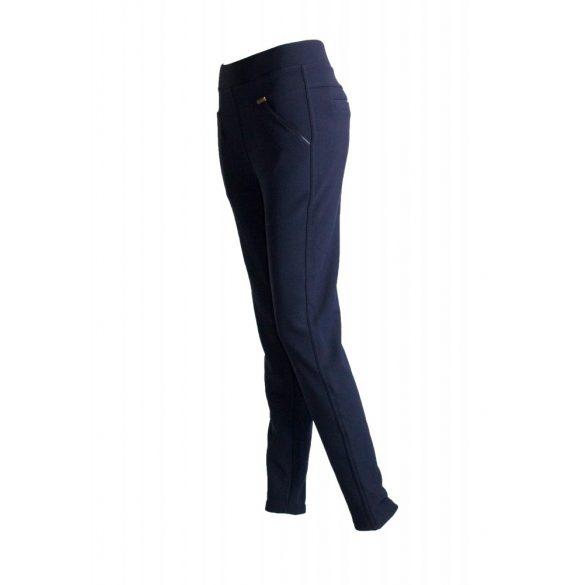 Elegáns, bélelt nadrág (sötét kék) (#3)