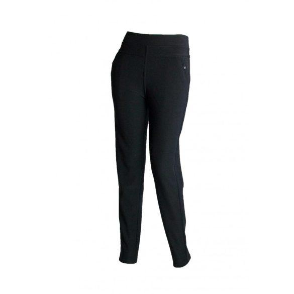 Elegáns, bélelt nadrág (fekete) (#3)