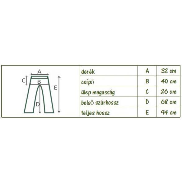 Laza, divatos nadrág (szürke) (#4)