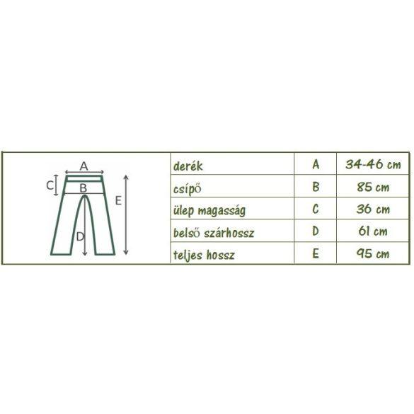 Pasa nadrág - szellős bő nadrág (egyszínű) (#21)