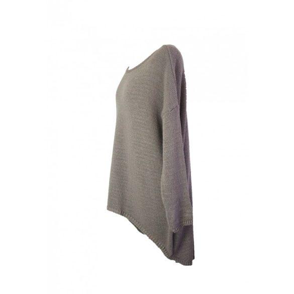 Kötött csónak nyakú pulóver (#3)