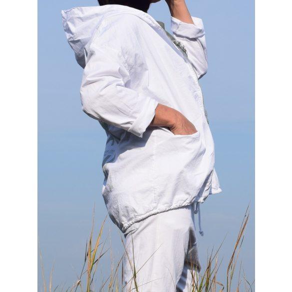 Vászon átmeneti kabát zippzáras (#8)