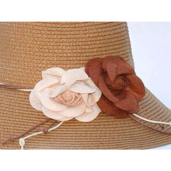 Kalap filc virág dísszel (#1)