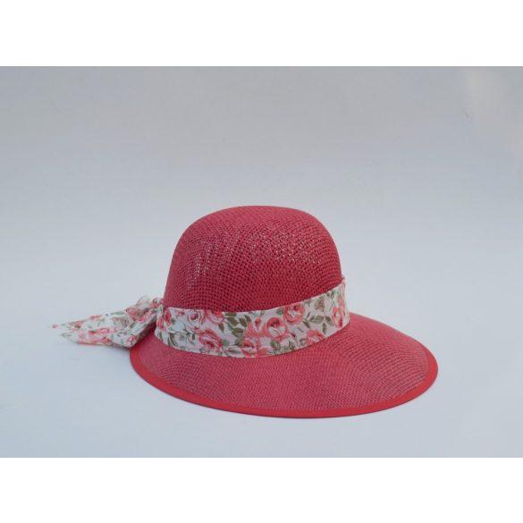 Színes kalap selyem szalaggal (#6)