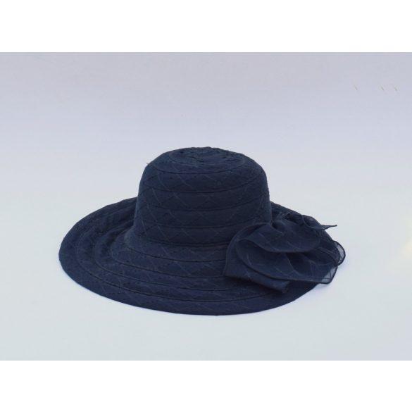 Organza kalap virággal (#8)
