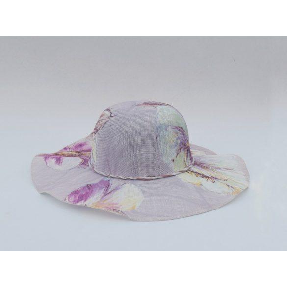 Virágmintás kalap (#9)